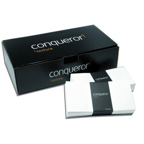 Conqueror Ultra Smooth CX22 Wallet Envelopes DL Diamond White 120gsm (500) 01625
