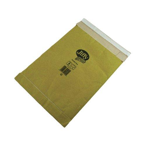 Jiffy Green Mailing Bag Size 8 437x666mm Gold (50) JPB-8