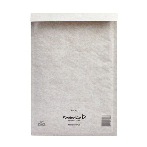 Mail Lite Bubble Lined Envelopes F/3 220x330mm White (50) MLW3