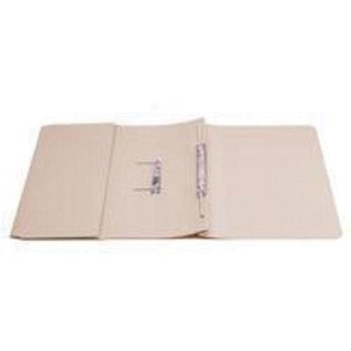 Value Transfer Spring Pocket File Foolscap Buff 315gsm
