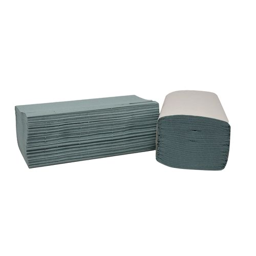 Hand Towels 1Ply I-Fold 242x222mm Blue (3600)