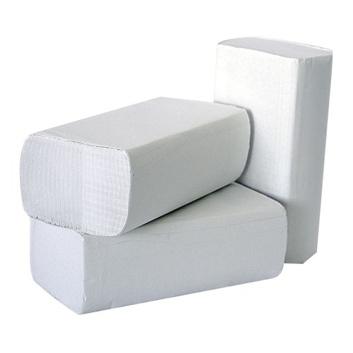 Hand Towels 1Ply M-Fold Laminated White (3000)