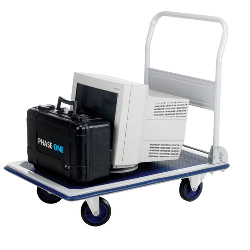 Barton Flatbed Trolley 290x910x610mm 300kg Capacity PFBT300