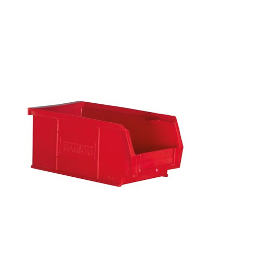 Barton Semi Open Fronted Container TC2 Red 165x100x75mm (20) 010022