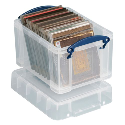 Really Useful Storage Box 3litre 245x180x160mm Clear 3C