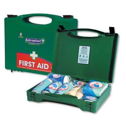 Wallace Cameron Astroplast Green Box HS1 10 Person First Aid Kit 1002278