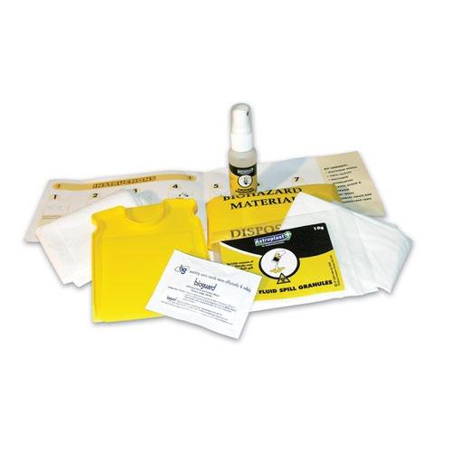 Wallace Cameron Astroplast Piccolo Body Fluid Kit Refill (2) 1012048