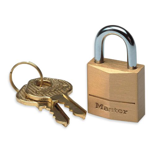 Master Lock Brass Padlock 50mm 150EURD