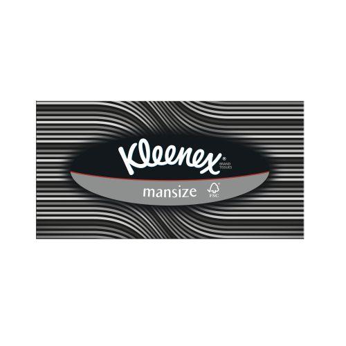 KLEENEX Mansize Tissue 2ply 100 Sheets 377002