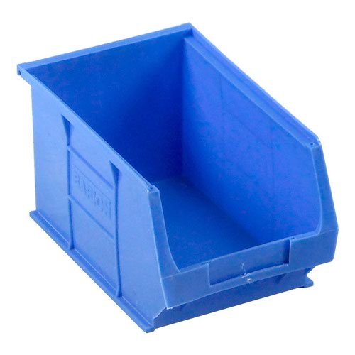 Barton Semi Open Fronted Container TC3 Blue 240x150x132mm (10) 010031