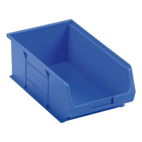 Barton Semi Open Fronted Container TC4 Blue 350x205x132mm (10) 010041