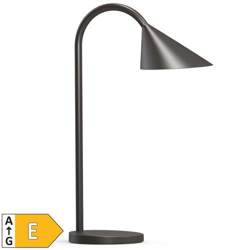 Unilux Sol LED Adjustable Arm Desk Lamp Black 400086979