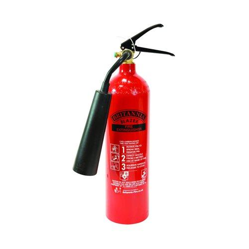Fire Extinguisher CO2 Refillable 2kg FM29264
