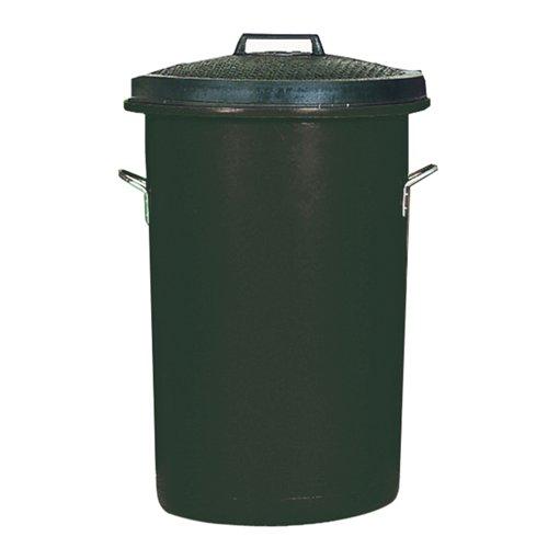 Heavy Duty Dustbin 85 Litre Black 311961