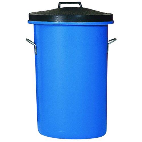 Heavy Duty Dustbin 85 Litre Blue 311963