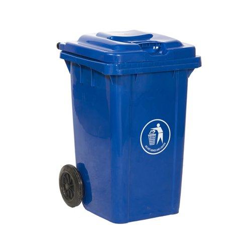 Wheelie Bin 80 Litre Blue