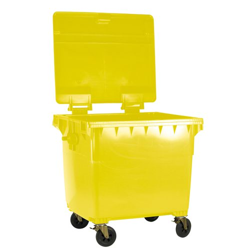 Wheeled Bin 770 Litre Yellow