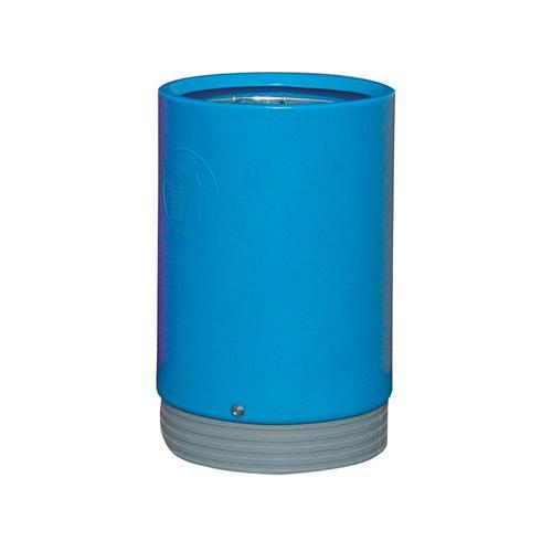 Heavy Duty Open Top Bin Light Blue