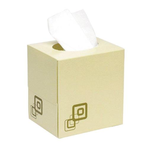 Luxury Facial Tissues Cube Box 70sheets