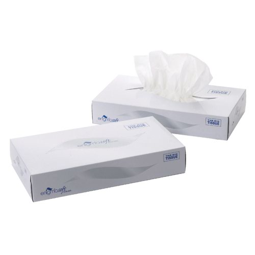 Facial Tissues Large White 100sheets (24)