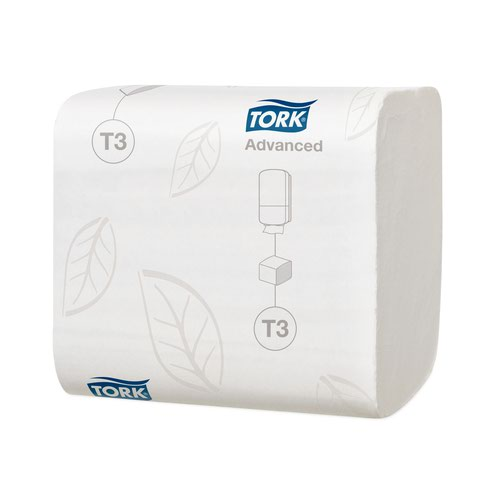 Tork T3 Folded Toilet Tissue 2Ply 242sheets White (36) 114271