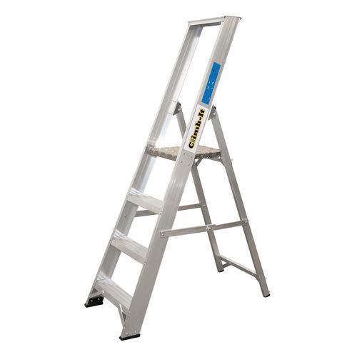 Climb-It Aluminium Platform Stepladder 6 Tread APS06Z