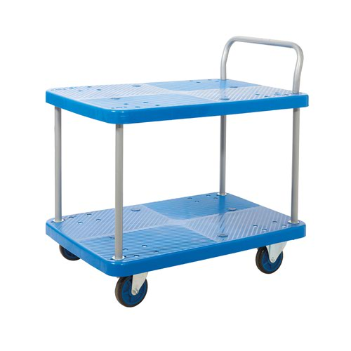 Proplaz Blue Two Tier Trolley PPU95Y