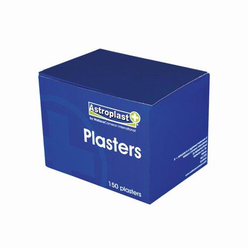 Wallace Cameron Astroplast Waterproof Pilferproof Plasters Refill 76x25mm (150) 1204010
