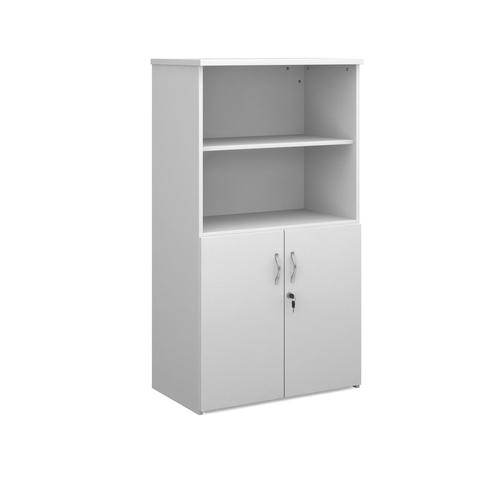 Universal Open Top Storage Unit 800x470x1440mm White Finish R1440OPWH