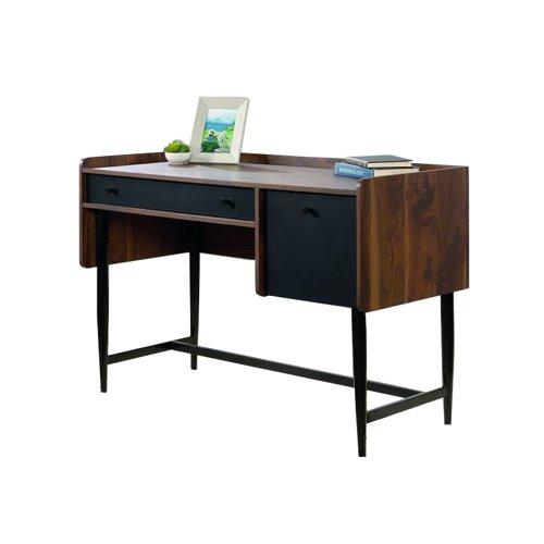 Teknik Office Hampstead Park Compact Desk Grand Walnut 5420284