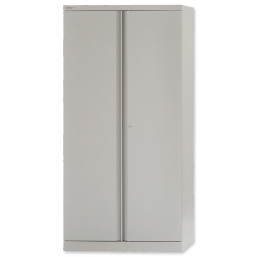 Bisley Cupboard 2 Door 1806mm Grey E722A03-v4