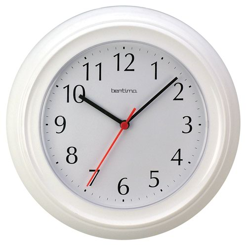 Acctim Wycombe Wall Clock 220mm White