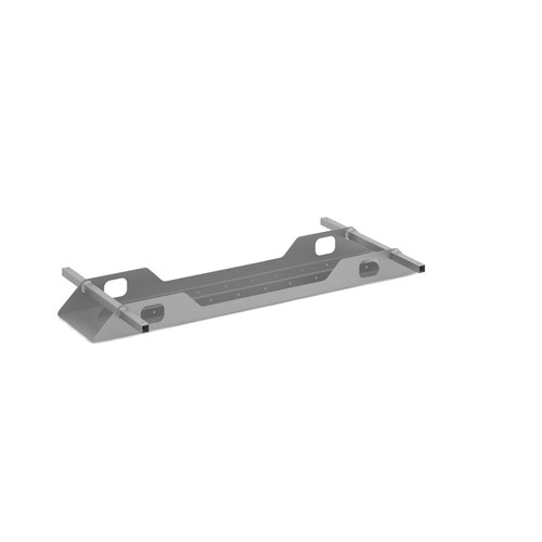 Connex Double Cable Tray 1400mm Silver COU14DCT-S
