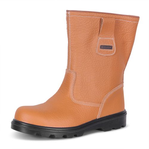 Beeswift Lined Rigger Boot Tan Size 9/EU43 RBLS09