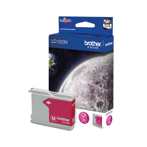 Brother Inkjet Cartridge Magenta LC1000M