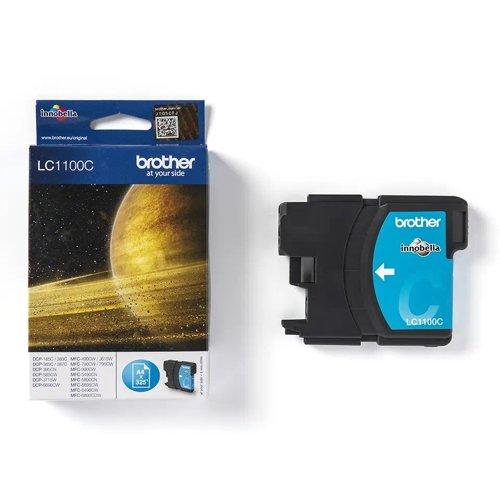 Brother Inkjet Cartridge Cyan LC1100C