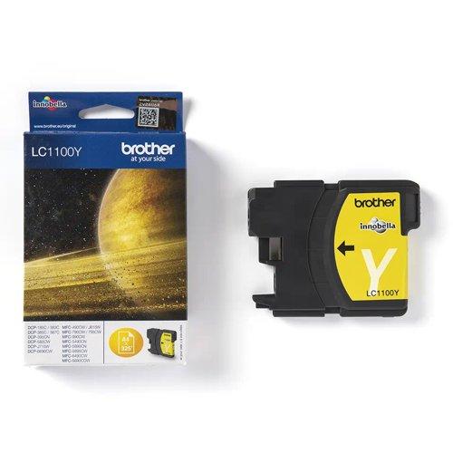 Brother Inkjet Cartridge Yellow LC1100Y