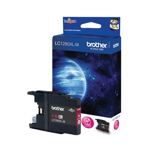 Brother Inkjet Cartridge High Capacity Magenta LC1280XLM