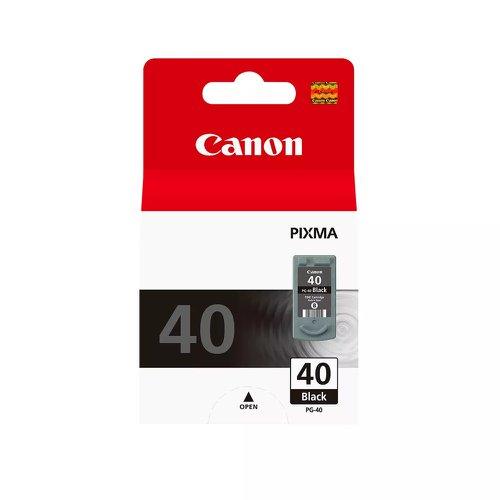 Canon No.40 Inkjet Cartridge Black PG-40 0615B001