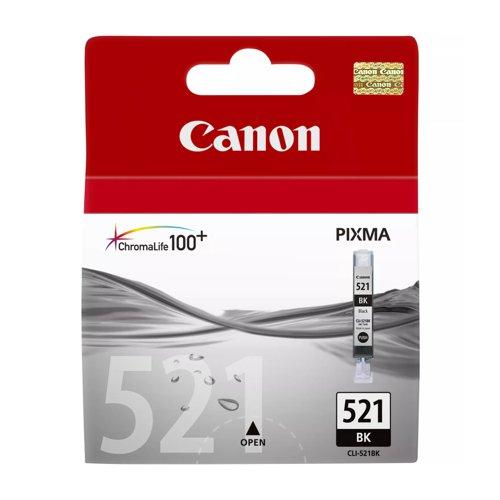 Canon No.521 Inkjet Cartridge Black CLI-521BK