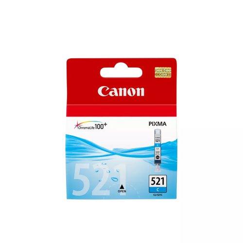 Canon No.521 Inkjet Cartridge Cyan CLI-521C
