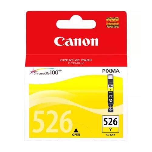 Canon No.526 Inkjet Cartridge Yellow CLI-526Y 4543B001