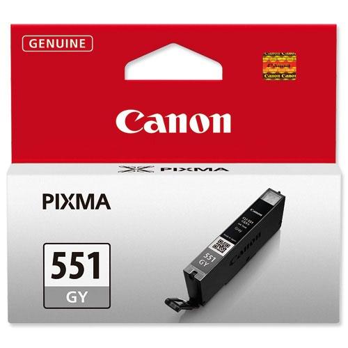 Canon No.551 Inkjet Cartridge Grey CLI-551GY 6512B001