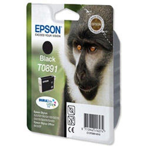 Epson T0891 Monkey Inkjet Cartridge Black T08914010