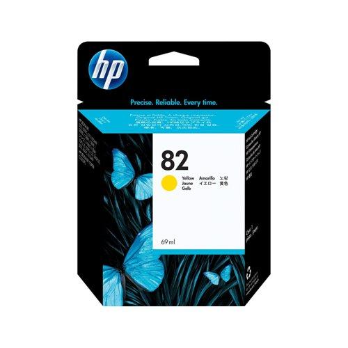 HP No.82 Inkjet Cartridge Yellow C4913A