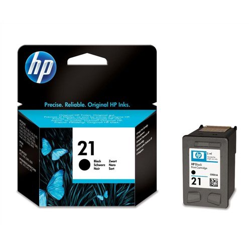 HP No.21 Inkjet Cartridge Black 5ml C9351AE
