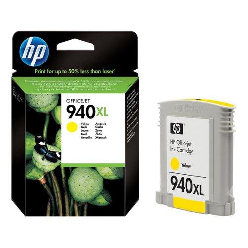 HP No.940XL Inkjet Cartridge High Capacity Yellow C4909AE