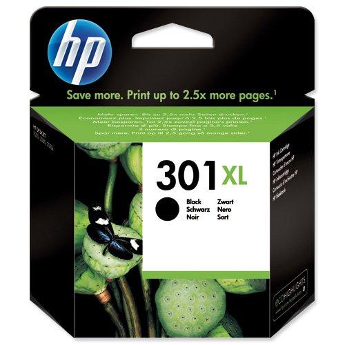 HP No.301XL Inkjet Cartridge High Capacity Black CH563EE