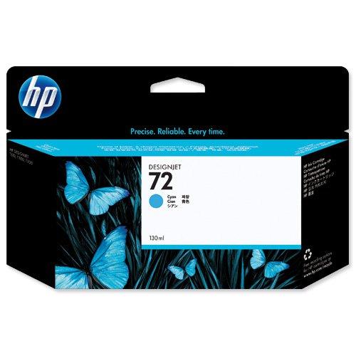 HP No.72 Inkjet Cartridge Cyan C9371A