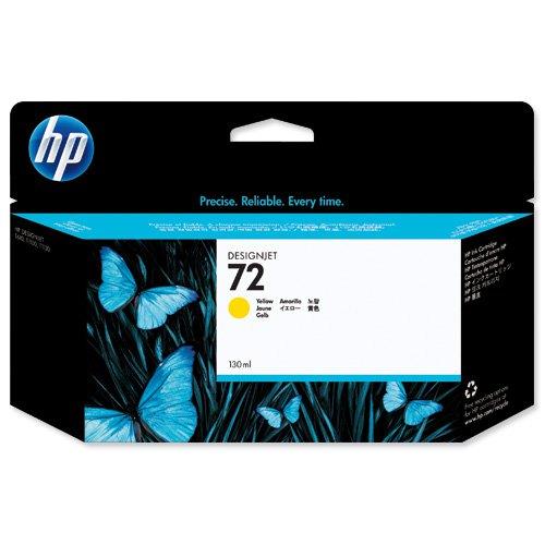 HP No.72 Inkjet Cartridge Yellow C9373A